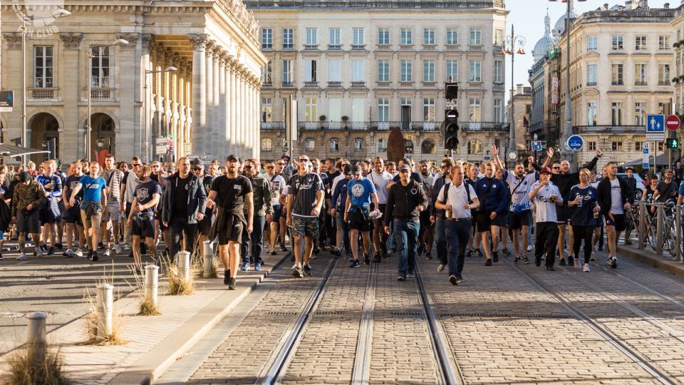 Se FCK-fans indtage Bordeaux