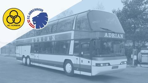 Bus til Horsens - inkl. billet til kampen