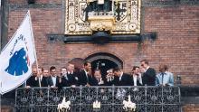 Guldfejring på Rådhuspladsen 2001