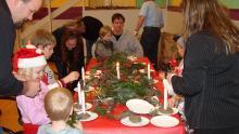 Billeder fra Juletræsfest 2004