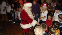 Billeder fra årets juletræsfest