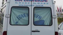 Med minibus til Beograd