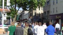 FCK-fans i Cardiff