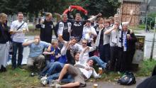 FCK-fans i Hamborg
