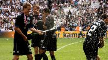 Pokalfejring mod AaB 21. maj 2009