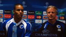 Pressemøde og optakt til VPL-FCK 24. august 2011