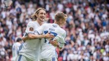 Billeder fra afklapsningen af FC Nordsjælland