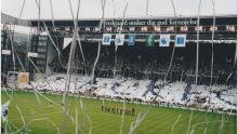 Tifo hjemme mod Brøndby 12. maj 2002