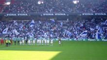 Flagdag hjemme mod FCN 23. april 2005