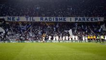Nej til racisme-tifo 22. oktober 2006