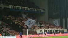 Tifo mod Rosenborg 4. december 2008