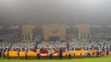 Tifo hjemme mod Marseille 18. februar 2010