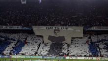 Tifo hjemme mod Rosenborg 25. august 2010