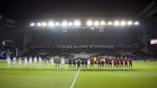 Tifo hjemme mod Rubin Kazan 14. september 2010