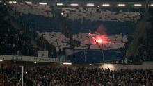 Tifo ude mod Hannover 96 - 20. oktober 2011