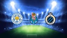 Vi skal møde Leicester, Porto og Brugge