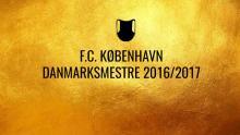 FCK - Danmarksmestre 2016/2017