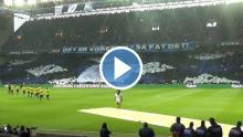 Video af tifoen hjemme mod Brøndby
