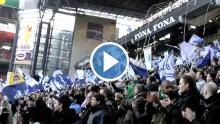 Se video af tifoen fra OB-kampen