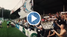 Video fra AWAY mod The New Saints
