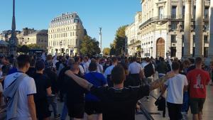 FCK-fans i Bordeaux