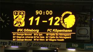 IFK Göteborg-FCK - Royal League-finale