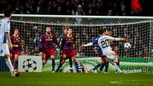 Billeder fra FCK-Barcelona 2. november 2010