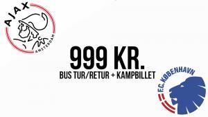 Bussen kører til Amsterdam