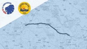 Transport mellem Prag og Olomouc