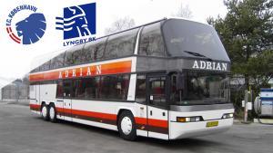 Bus fra Jylland til FCK-LBK